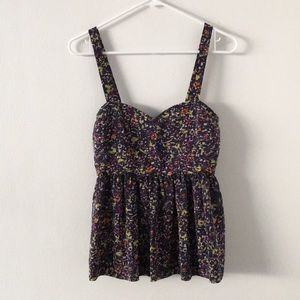 Urban Outfitters pins and needles top tank S